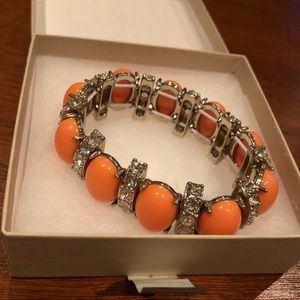 Orange Banana Republic bracelet! Comes in box!